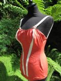 1950's Coral stretch nylon elastane bathing costume **SOLD**